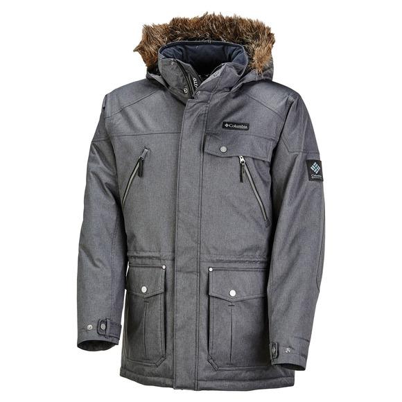 Barlow Pass 550 Turbodown Plus Size - Men's Down Jacket