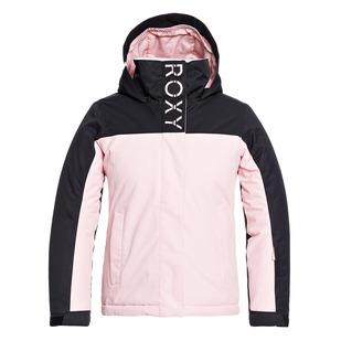 Galaxy Jr - Manteau d'hiver à capuchon pour fille