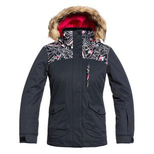 Moonlight Jr - Girls' Hooded Winter Jacket