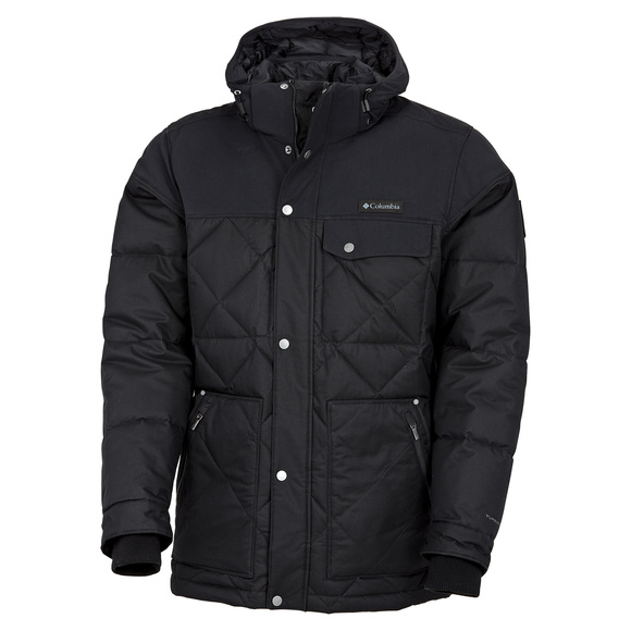 Barlow Pass 550 Turbodown - Men's Down Hooded Jacket