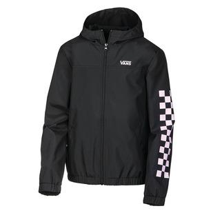 Kastle Classic Windbreaker Jr - Girls' Hooded Jacket