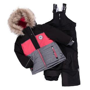 Autriche K - Little Girls' 2-Piece Snowsuit