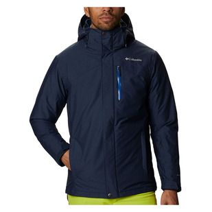Last Tracks - Men's Hooded Insulated Jacket