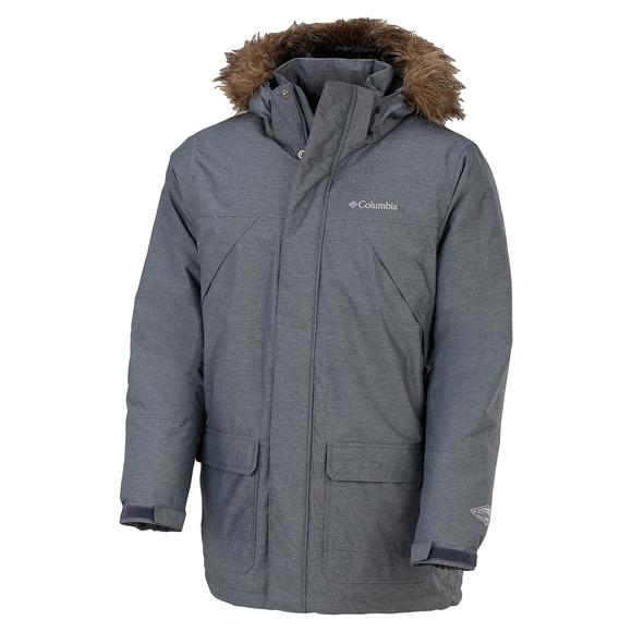Timberline Ridge - Manteau d'hiver à capuchon pour homme