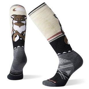 PhD® Ski Medium Fox Pattern - Bas de ski coussinés pour femme