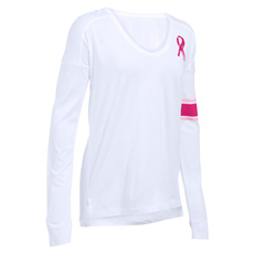 Favorite Power In Pink - Women's Long-Sleeved Shirt