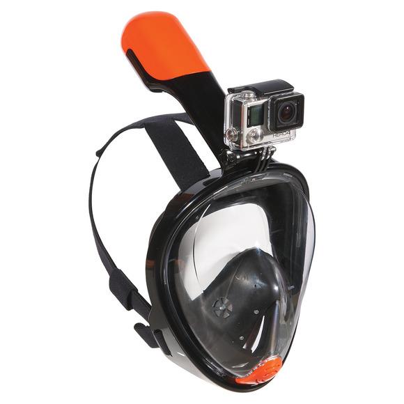 Divemask - Masque de plongée avec tuba intégré pour adulte