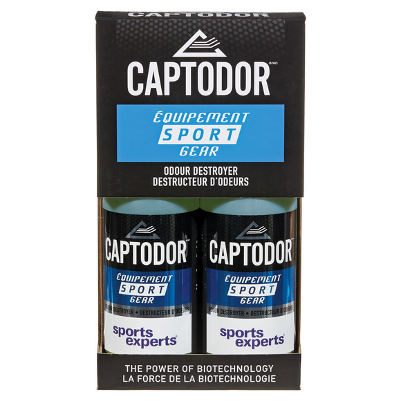 Captodor - Anti-Odour Spray for Sports Equipment (2 X 750 ml)