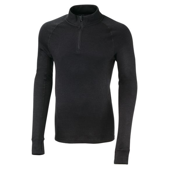 MM3510F16 - Chandail de sous-vêtement à fermeture éclair au col pour homme